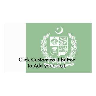 Prime Minister Of Pakistan, Pakistan Double-Sided Standard Business Cards (Pack Of 100)