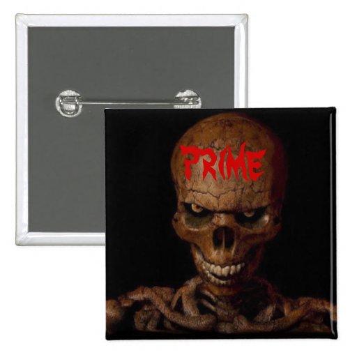PRIME Skull button