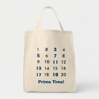 Prime Time Maths Tote Bag