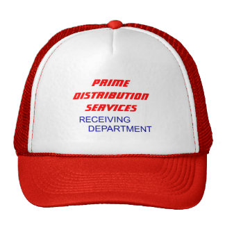 PrimeDistributionServices, RECEIVING           ... Trucker Hat