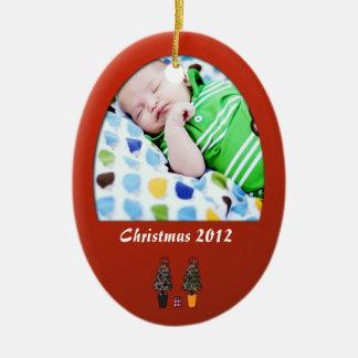 Primer 1r ornamento del navidad del bebé adorno de reyes
