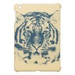 Primer 3 de la cara del tigre iPad mini cárcasas