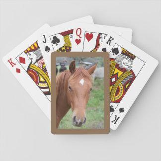 Primer alerta del caballo de Brown Baraja De Cartas