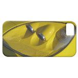 Primer amarillo de la linterna del Corvette Z06 iPhone 5 Cárcasas