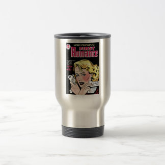 Primer amor romántico que se rompe para arriba taza de café