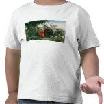 Primer aterrizaje de Cristóbal Colón adentro Camiseta