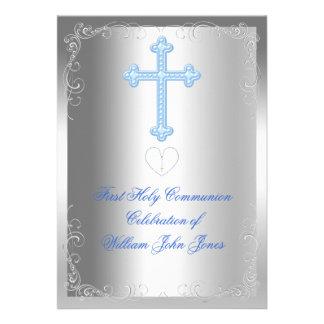 Primer azul de la plata de la comunión santa del m comunicados