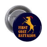 Primer batallón de la cabra pin