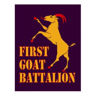 Primer batallón de la cabra postal