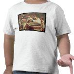 Primer bautismo de los indios de los Dominicans Camiseta