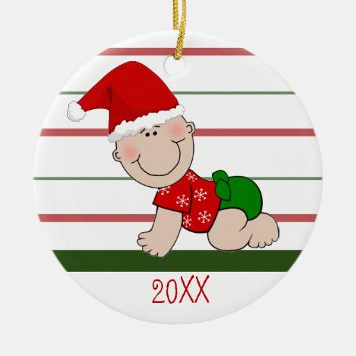 Primer bebé del navidad de Babys en el gorra de Sa Ornamento Para Reyes Magos