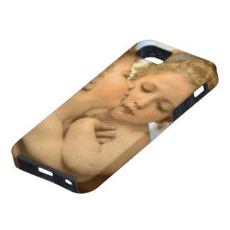 Primer beso por Bouguereau, ángeles del Victorian iPhone 5 Case-Mate Carcasas