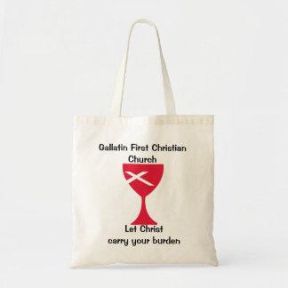Primer bolso de la iglesia cristiana de la galatin bolsa