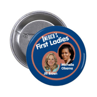 Primer botón de las señoras de Michelle Biden Pins