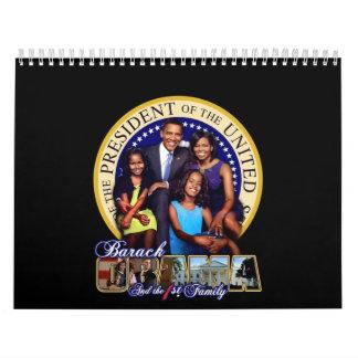 Primer calendario de la familia 2009 de Obama