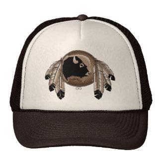 Primer casquillo de la fauna del búfalo del casqui gorras