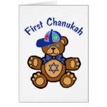 Primer Chanukah del bebé Felicitacion