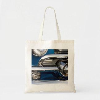 Primer clásico del cromo del coche bolsa lienzo