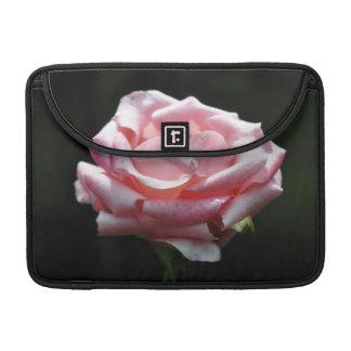 Primer color de rosa rosado funda para macbooks
