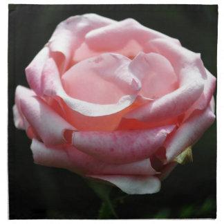 Primer color de rosa rosado servilletas de papel