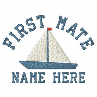 Primer compañero - con personalizable del yate polo bordado