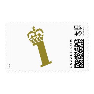 Primer cumpleaños - campeón - 1 sello postal