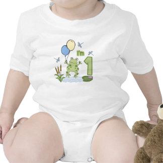 Primer cumpleaños del Froggy Camisetas