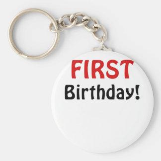 Primer cumpleaños llaveros