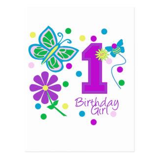Primer cumpleaños postal