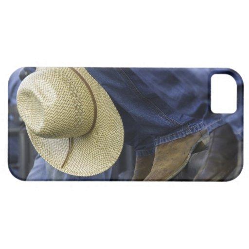 Primer de botas y del gorra iPhone 5 carcasa