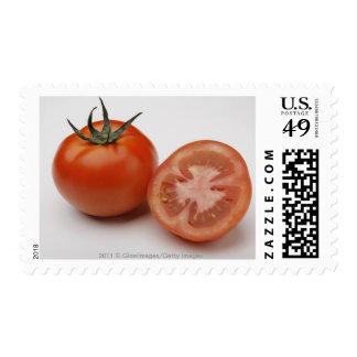 Primer de dos tomates sello