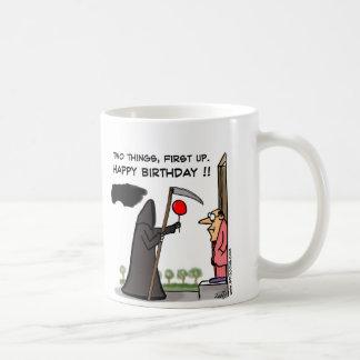 ¡Primer de feliz cumpleaños!! Taza
