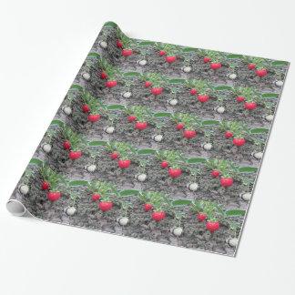 Primer de fresas orgánicas frescas en el Garde Papel De Regalo