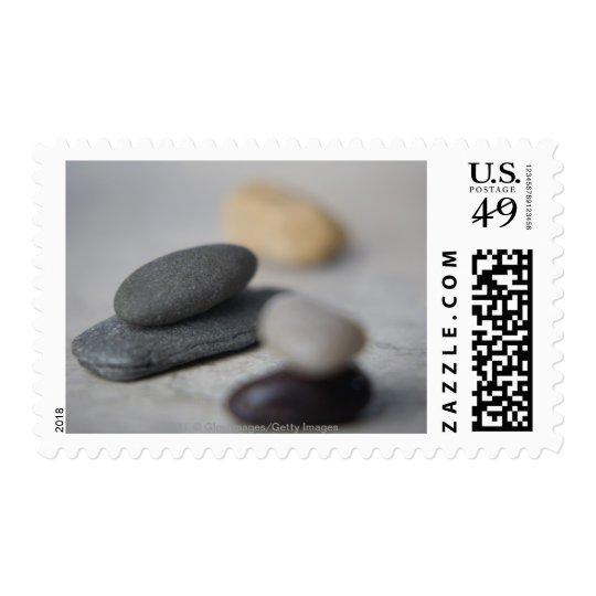 Primer de guijarros sellos postales
