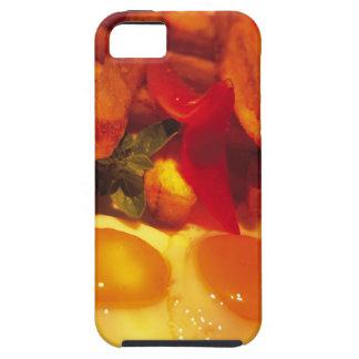primer de huevos fritos con las patatas fritas iPhone 5 funda