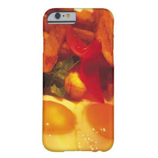 primer de huevos fritos con las patatas fritas funda de iPhone 6 barely there