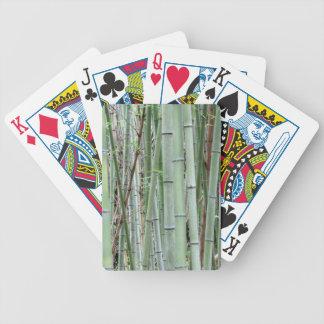 Primer de la arboleda de bambú cartas de juego