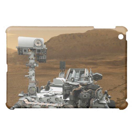 Primer de la curiosidad Rover de Marte