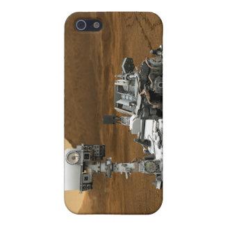 Primer de la curiosidad Rover de Marte iPhone 5 Cárcasa