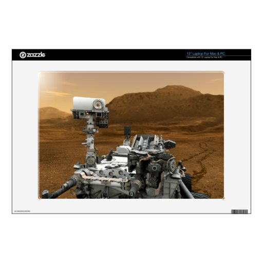 Primer de la curiosidad Rover de Marte Portátil Skin