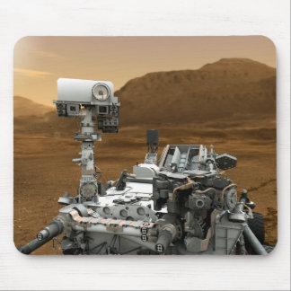 Primer de la curiosidad Rover de Marte Alfombrilla De Ratón