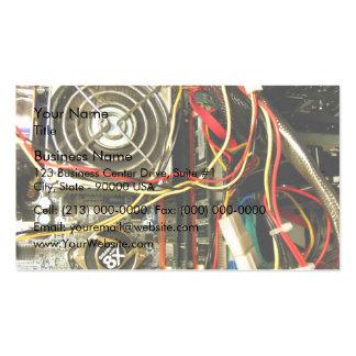 Primer de la electrónica del mainboard del ordenad tarjeta personal