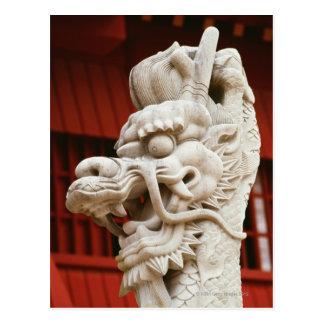 Primer de la estatua de un dragón, Shuri Postal