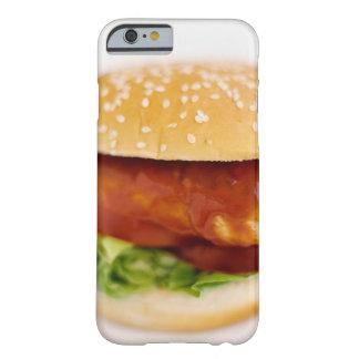Primer de la hamburguesa del pollo funda para iPhone 6 barely there