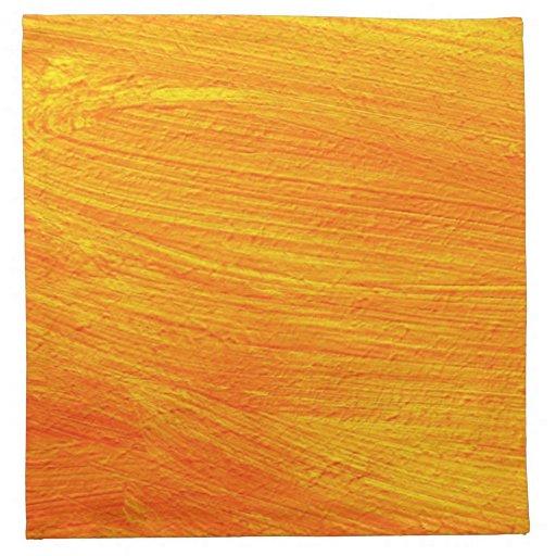 Primer de la pintura de la lona servilletas de papel