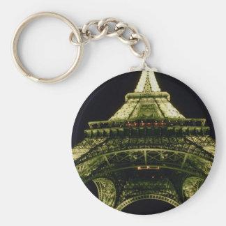 Primer de la torre Eiffel por noche, París, Fran Llavero Redondo Tipo Pin
