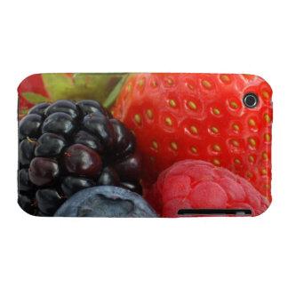 Primer de la zarzamora, arándano y iPhone 3 Case-Mate protector