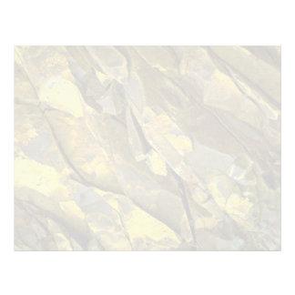 Primer de las formaciones de roca, cascadas, Washi Plantillas De Membrete