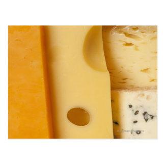 Primer de las rebanadas del queso postal