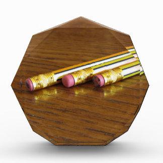 Primer de los borradores de lápiz usados en la